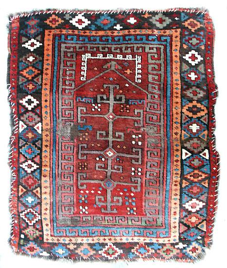 Colour Change In An Anatolian Kurd Prayer Rug