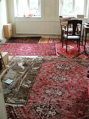 The Placement Of Rugs